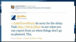 jet blue tweet caption