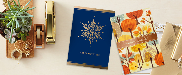 Holiday cards for customers and employees