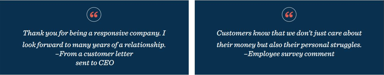 Customer loyalty and hallmark cards quotes