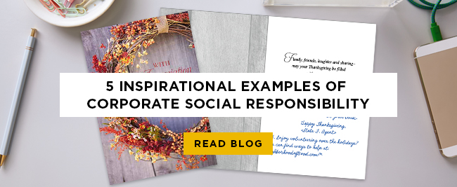 5 Inspirational Examples of Corporate Social Responsibility. READ BLOG