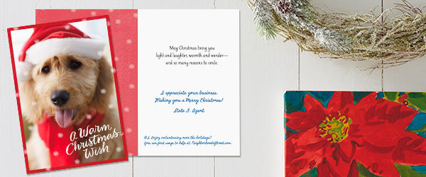 State Farm customers received a holiday greeting with an invitation to volunteer through Neighborhood of Good®.
