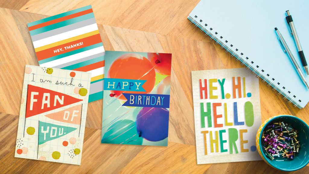 Astonishing 25 Sentiments For Staff Birthday Cards Hallmark Business Connections Funny Birthday Cards Online Alyptdamsfinfo